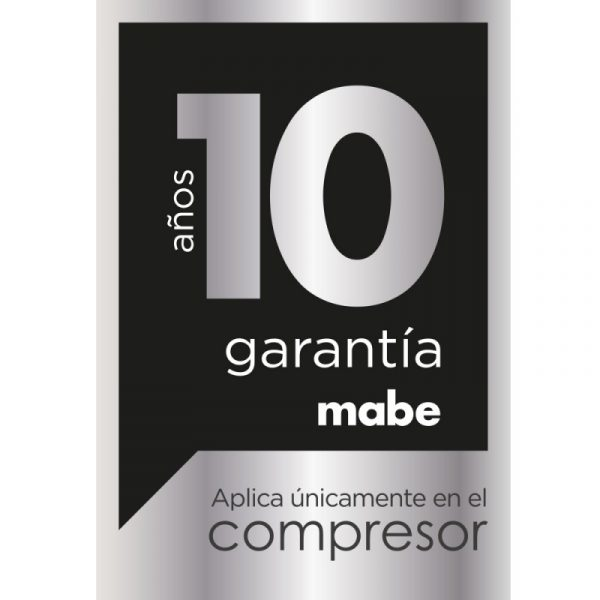 NEVERA MABE NO FROST 400 LITROS BLACK STEEL RMS400IBBRP0